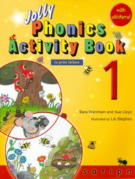 Jolly Phonics Activity Book. 1 (in print letters)