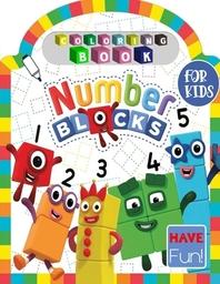 [해외]Numberblocks Coloring Book