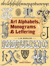 Art Alphabets, Monograms, and Lettering