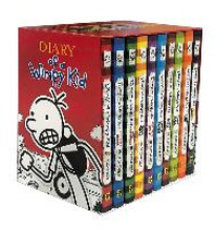 Diary of a Wimpy Kid Box of Books (1-10)