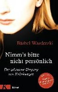 [해외]Nimm's bitte nicht persoenlich (Paperback)