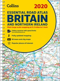 [해외]2020 Collins Essential Road Atlas Britain and Northern Ireland