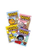 Go Go 카카오프렌즈 4권 세트(미국, 일본, 영국, 프랑스)