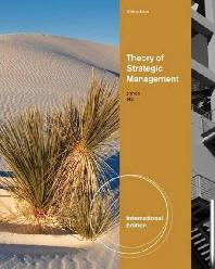 Theory of Strategic Management (Paperback)