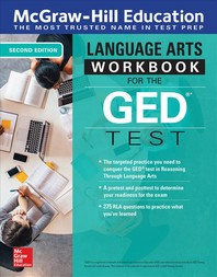 [해외]McGraw-Hill Education Language Arts Workbook for the GED Test, Second Edition
