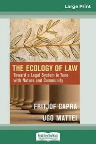[해외]The Ecology of Law (Paperback)