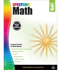 Spectrum Math Grade. 3