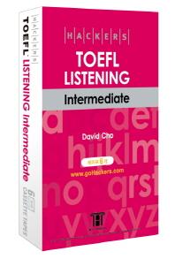 HACKERS TOEFL LISTENING INTERMEDIATE(iBT)(TAPE 6개)