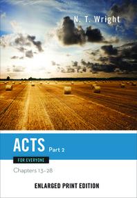 [해외]Acts for Everyone, Part 2 (Enlarged Print) (Paperback)