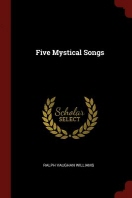 [해외]Five Mystical Songs (Paperback)