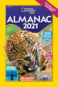 [해외]National Geographic Kids Almanac 2021, U.S. Edition