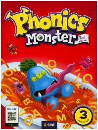 Phonics Monster. 3: Long Vowels
