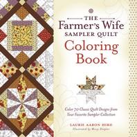 [해외]The Farmer's Wife Sampler Quilt Coloring Book