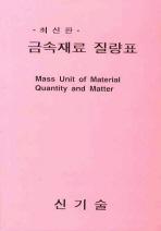 금속재료 질량표(2판)