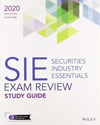 Wiley Securities Industry Essentials Exam Review 2020