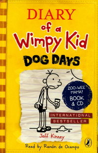 Diary of a Wimpy Kid 4~8 세트