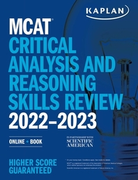 [해외]MCAT Critical Analysis and Reasoning Skills Review 2022-2023