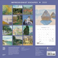 Impressionist Escapes 2020 Wall Calendar