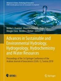 [해외]Advances in Sustainable and Environmental Hydrology, Hydrogeology, Hydrochemistry and Water Resources