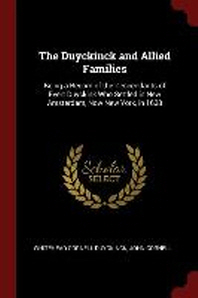The Duyckinck and Allied Families