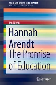 [해외]Hannah Arendt