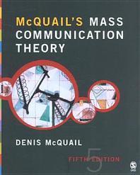 McQuail's Mass Communication Theory 5/e. (무료배송)