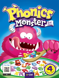Phonics Monster. 4: Double Letters(Student Book)(2판)(CD2장포함)