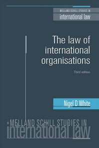The Law of International Organisations