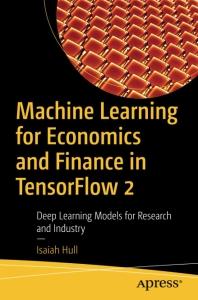 [해외]Machine Learning for Economics and Finance in Tensorflow 2