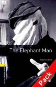 Oxford Bookworms Stage 1 : The Elephant Man (Audio CD Pack)
