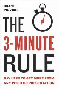 [해외]The 3-Minute Rule (Hardcover)