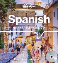 [해외]Lonely Planet Spanish Phrasebook and CD