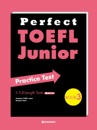 TOEFL Junior Practice Test Book. 3(Perfect)(MP3CD1장포함)