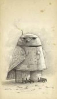 [해외]Shaun Tan Notebook - Snow Owl