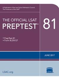 [해외]The Official LSAT Preptest 81