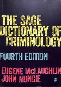 [해외]The Sage Dictionary of Criminology