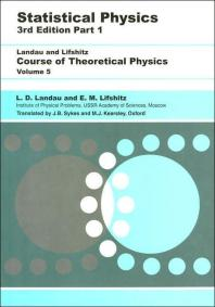 Statistical Physics, Part 1, Vol. 5