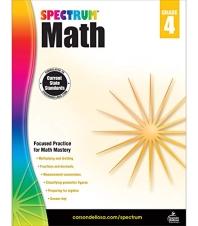 Spectrum Math Grade. 4