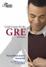 Crash Course for the GRE 3/E