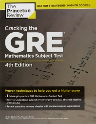 CRACKING THE GRE MATHEMATICS SUBJECT TEST(4TH EDITION)