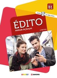 Edito Niv.B1 (Ed. 2018) - Livre + Dvd-Rom