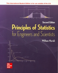 ISE Principles of Statistics for Engineers and Scientists