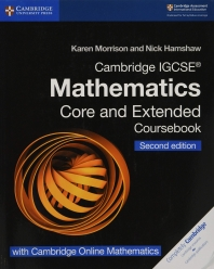 [해외]Cambridge Igcse(r) Mathematics Coursebook Core and Extended Second Edition with Cambridge Online Mathematics (2 Years)