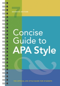 [해외]Concise Guide to APA Style