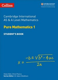 [해외]Cambridge International as and a Level Mathematics Pure Mathematics 1 Student Book