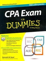 [해외]CPA Exam for Dummies with Access Code
