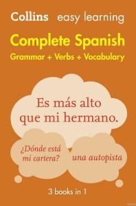[해외]Complete Spanish Grammar Verbs Vocabulary
