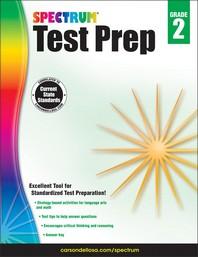Spectrum Test Prep Grade. 2