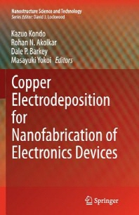 Copper Electrodeposition for Nanofabrication of Electronics Devices