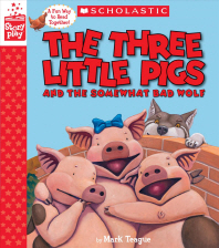 [해외]The Three Little Pigs and the Somewhat Bad Wolf (a Storyplay Book)